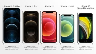 iPhone 12 mini size