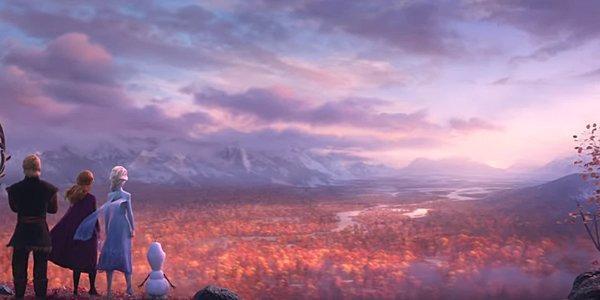 Frozen 2 trailer screenshot