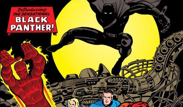 black panther and fantastic four comics