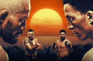 UFC FIght Night Figueiredo vs. Benavidez on Fight Island