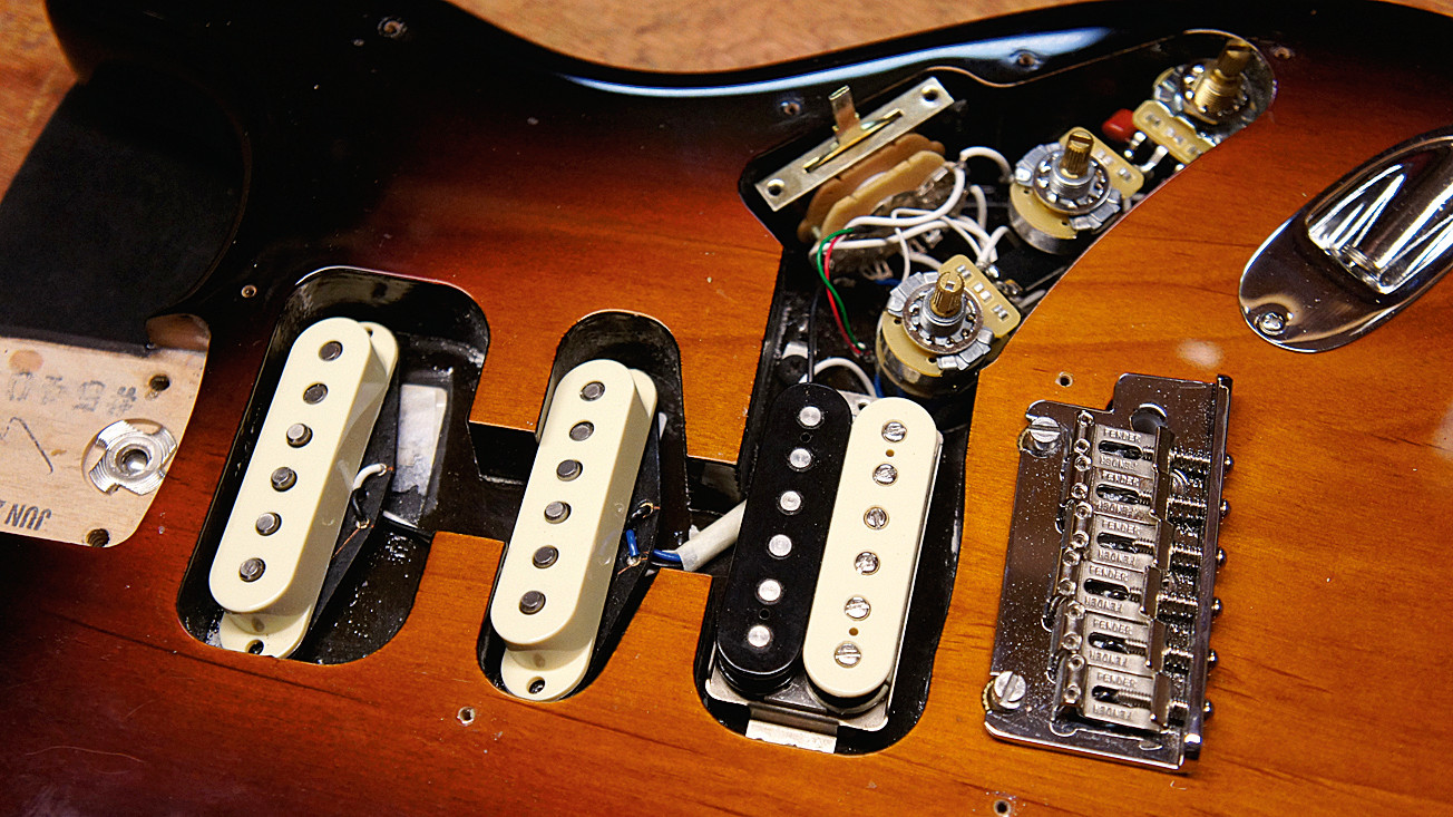 How to replace Stratocaster pickups | MusicRadar