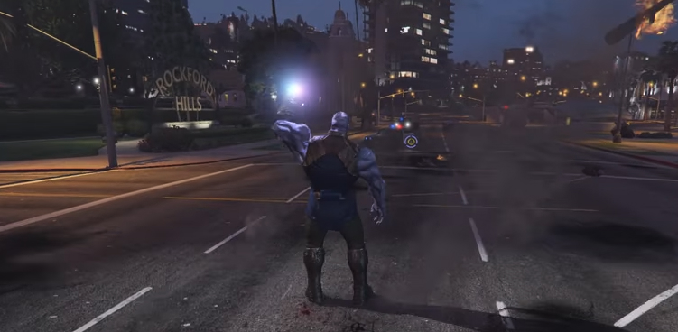 GTA 5 mod brings Thanos to San Andreas with devastating