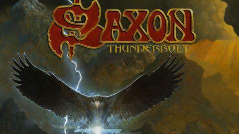 Cover art for Saxon - Thunderbolt album