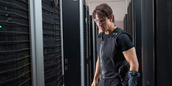 Tom Cruise as Ethan Hunt in Mission: Impossible - Ghost Protocol