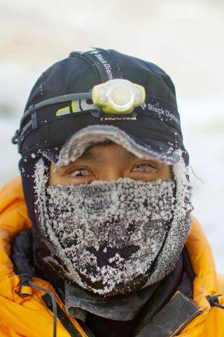 Mars 160 Crewmember Yusuke Murakami in Antarctica