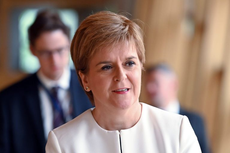 nicola sturgeon ted talk wellbeing