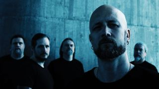 A press shot of MEshuggah looking mean