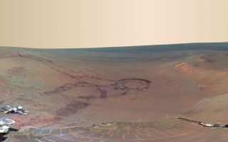 Opportunity Rover Pancam Panorama