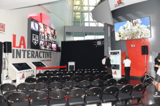 Toshiba's LA Interactive at STAPLES Center