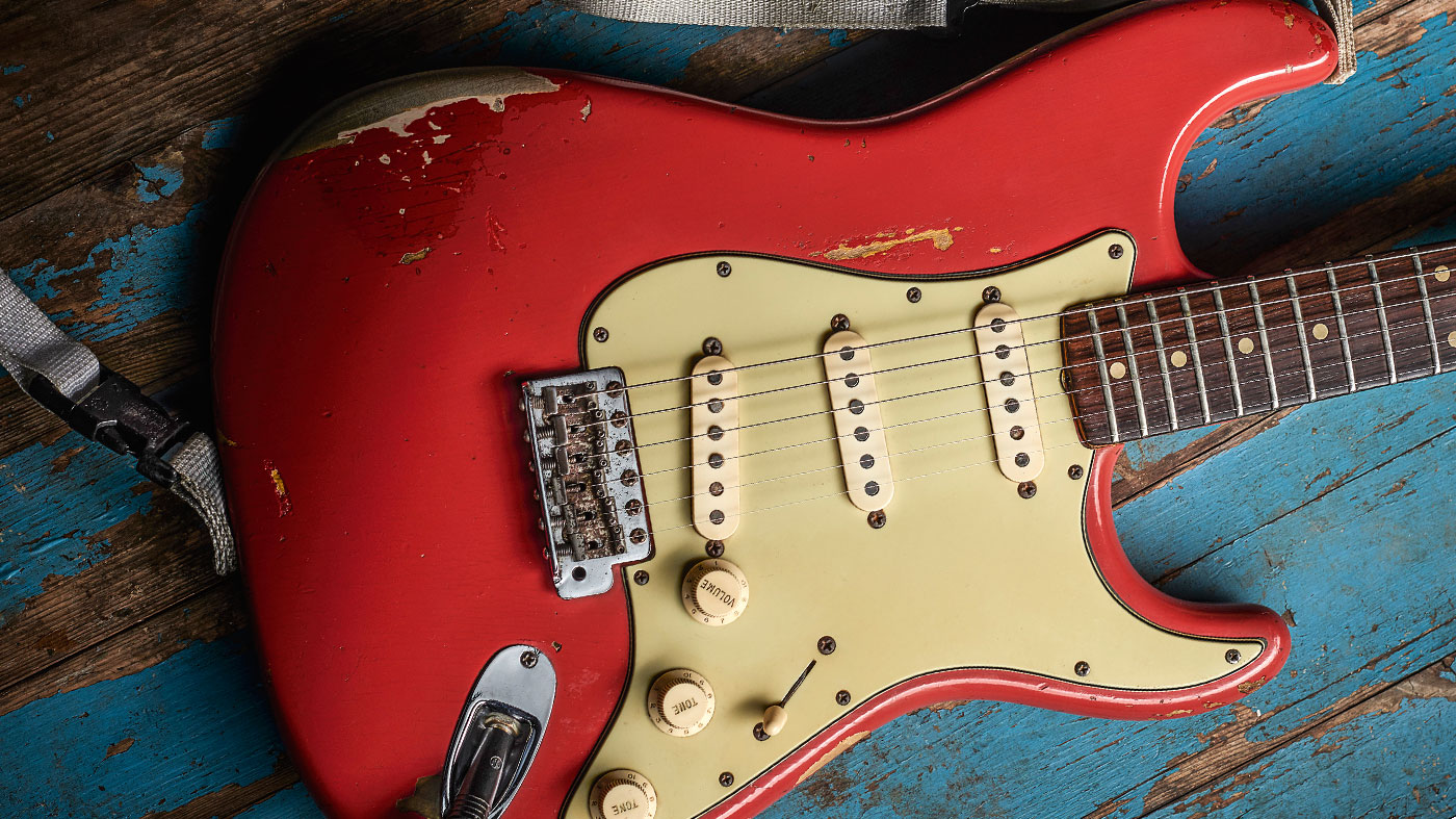 Under the microscope: Gary Moore's Fiesta Red Fender