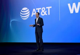 Randall Stephenson, AT&T chairman and CEO, during WarnerMedia Day