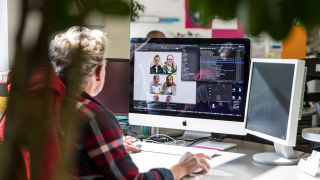 How to get a career in graphic design: Graphic designer at work