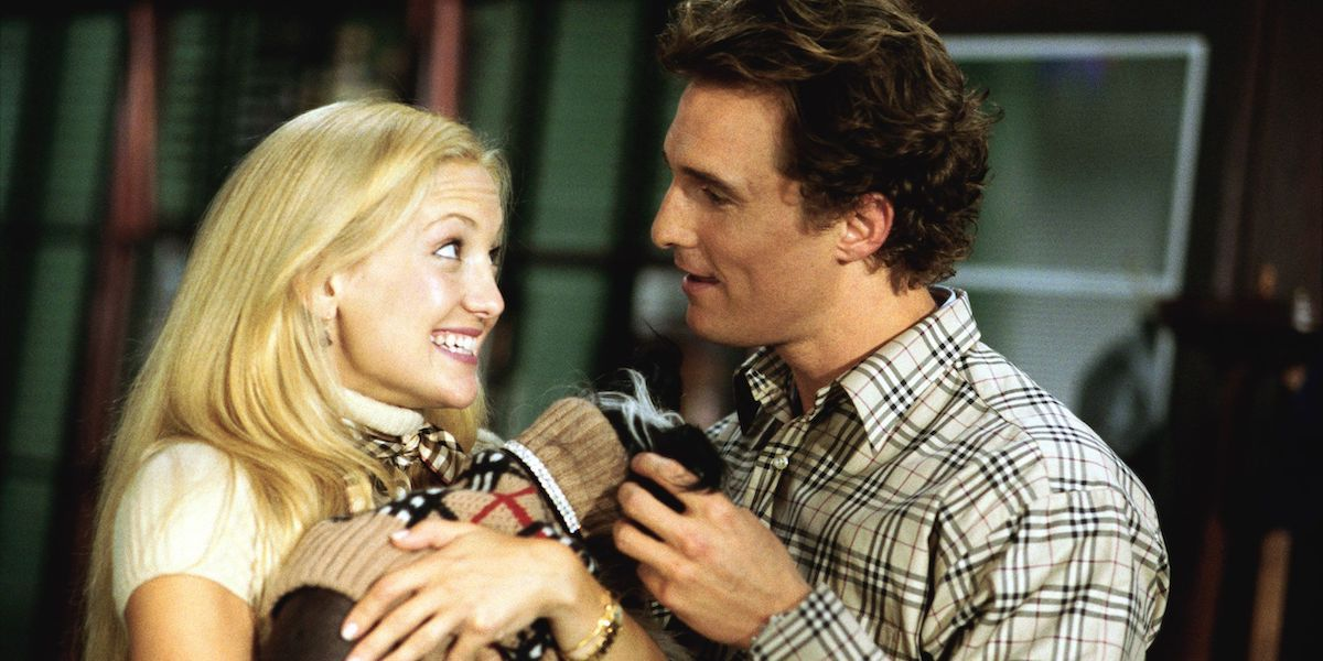 Kate Hudson and Matthew McConaughey in How to Lose a Guy in 10 days