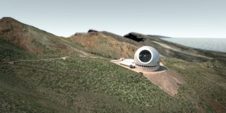 Proposed alternate TMT site, observatorio del roque de los muchachos