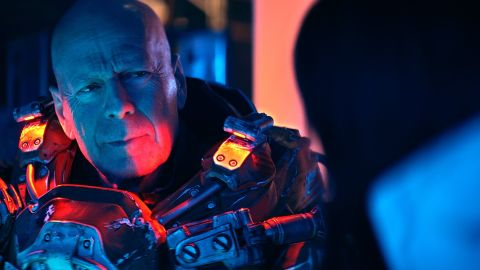 Bruce Willis in 'Cosmic Sin'.