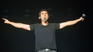 Serj Jankian at SSE Wembley Aren, 2015