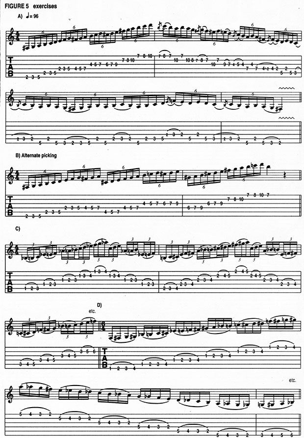 Learn Randy Rhoads' warm-up exercises and more in this