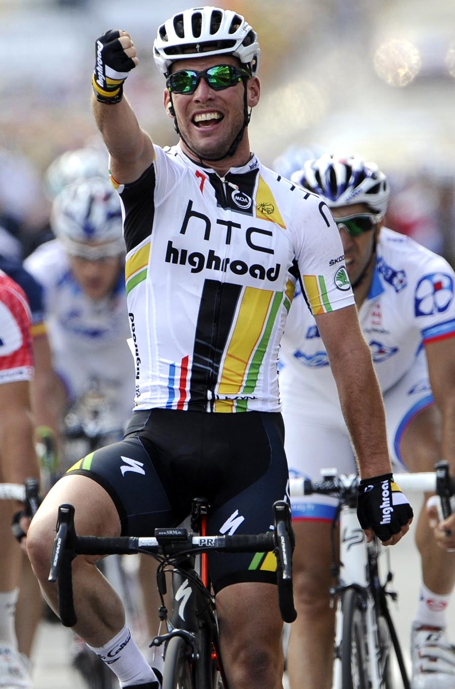 Mark Cavendish wins, Tour de France 2011 stage seven