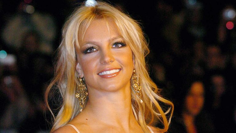 """US rock star Britney Spears arrives 24 January 2004 at Cannes' Palais des Festivals, for France's annual NRJ music awards. The awards are held as the International music industry descends on Cannes, southern France, for the annual MIDEM trade jamboree, the music world's premier trade show. The NRJ pop music station's awards are based on a public vote, with around 50 artists competing for 15 awards. NRJ is a popular commercial FM radio network whose name, when pronounced in French, makes the word """"energy"""""""