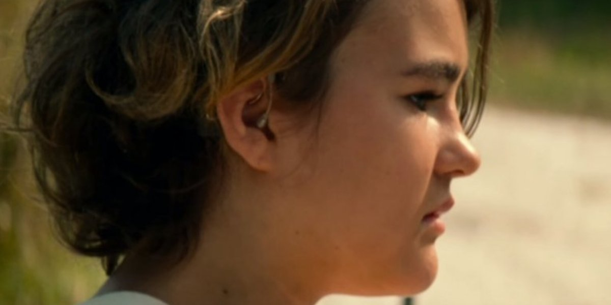 Millicent Simmonds in A Quiet Place