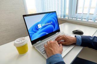 Laptop running Windows 11