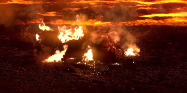 Detailed Photo Of Anakin S Burn Makeup From Revenge Of The Sith Resurfaces Cinemablend