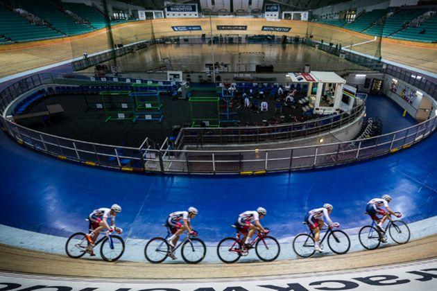 British Cycling Academy, Manchester Velodrome, track_Russ Ellis