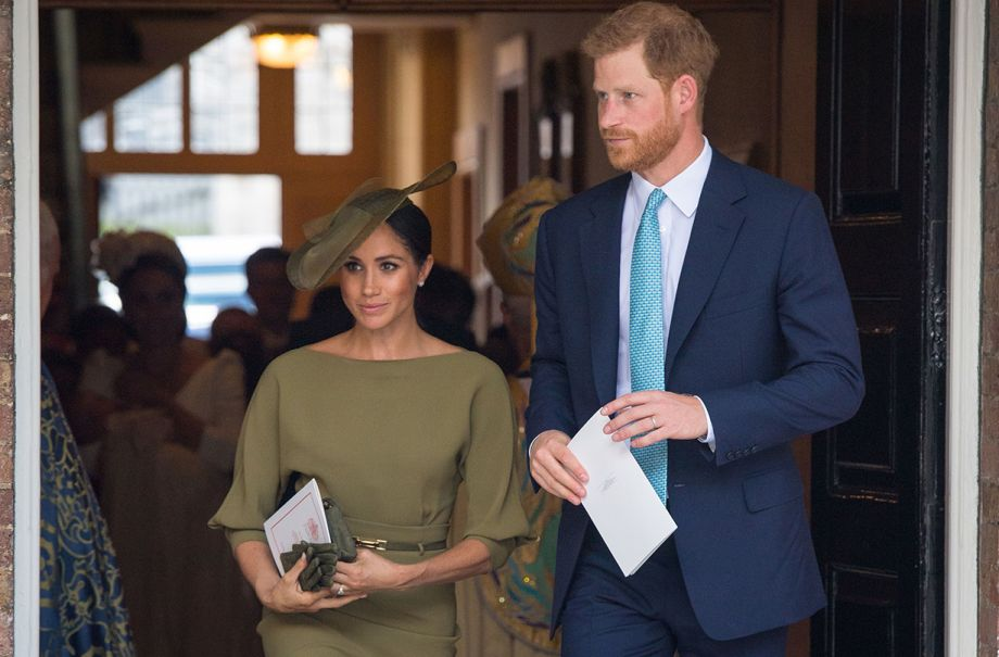 meghan markle christening outfit replica marks spencer olive dress