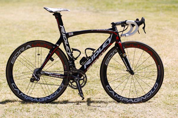 Lotto Ridley, 2012 WorldTour team bikes