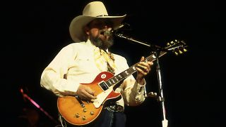 Charlie Daniels onstage in Memphis, May 29, 1981