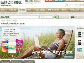 Barnes and Nobles unveils double whammy of world's biggest ebookstore and Plastic Logic link-up