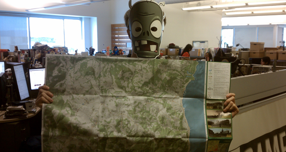 Buy a paper map of Day Z's horrifying world, Chernarus, for $15   PC Chernarus Map on