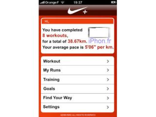 The Nike+ iPhone App?
