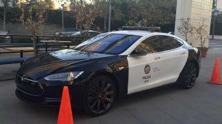 Tesla Model S LAPD