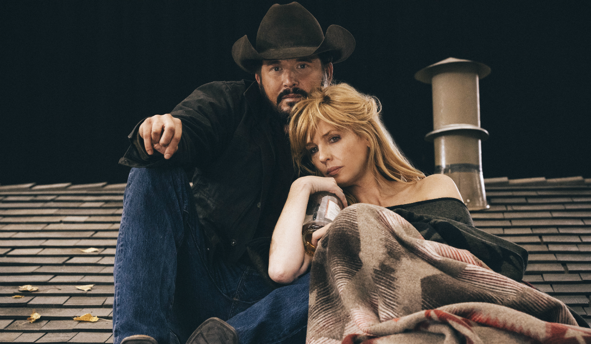 Yellowstone Rip Wheeler Cole Hauser Beth Dutton Kelly Reilly Paramount Network