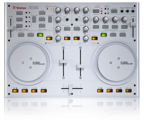 Those classic Vestax looks are intact, but it's a shame that they don't translate into classic Vestax usability.