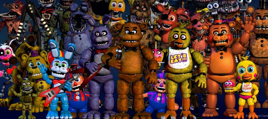 Buff your courage stat, a Five Nights at Freddy's RPG is