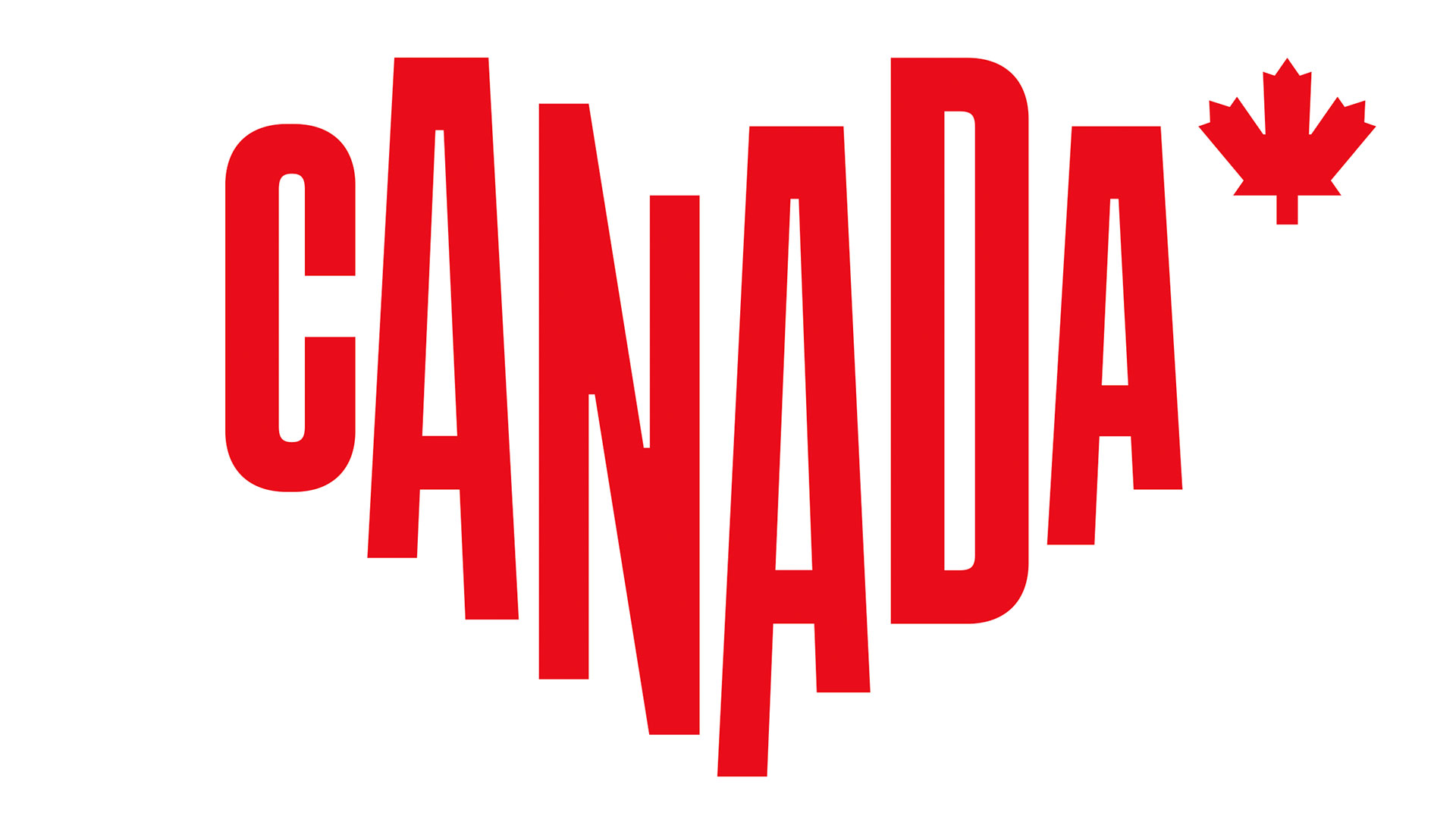 Canadian tourism logo will set your hearts pounding | Creative Bloq