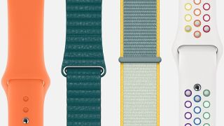 Variety of Apple Watch bands