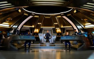 A view of the bridge during Star Trek: Discovery Season 1.