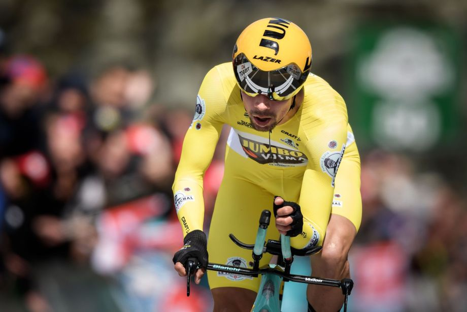 Primoz Roglic Wins Stage Five Time Trial And Overall Title At Tour De Romandie 2019 Cycling Weekly
