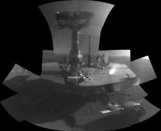 NASA's Opportunity Mars rover selfie