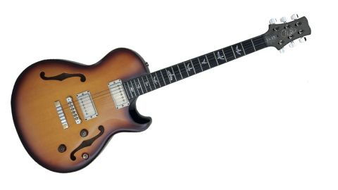 In looks, the JA-15 seems to hark back to the hollowbody archtop