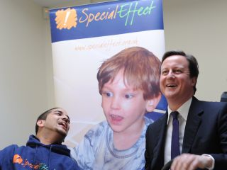 David Cameron is all for accessible gaming