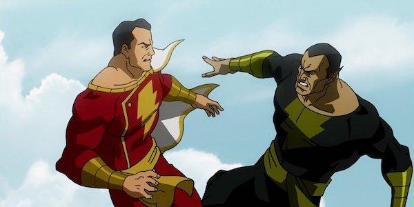 Shazam vs Black Adam