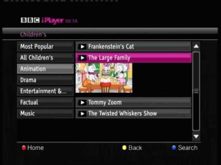 iPlayer Beta on Freesat