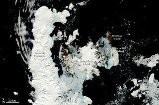 Antarctic Peninsula in spring.