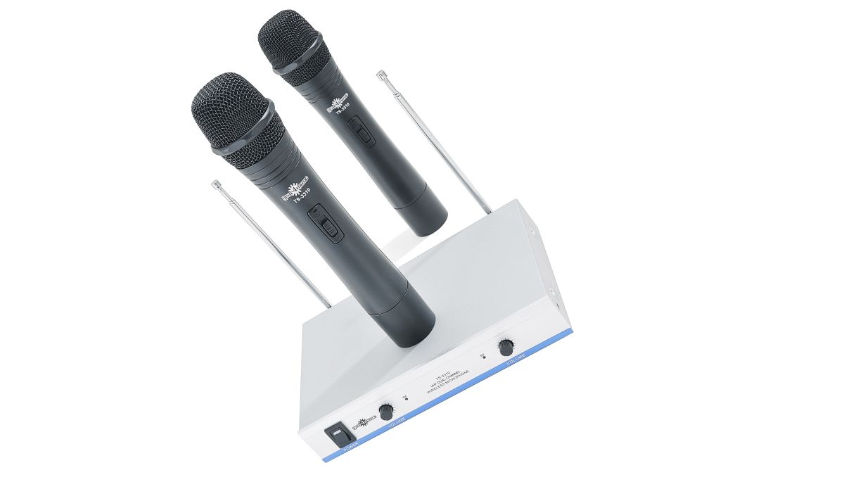 gear4music dual wireless microphone system review musicradar. Black Bedroom Furniture Sets. Home Design Ideas