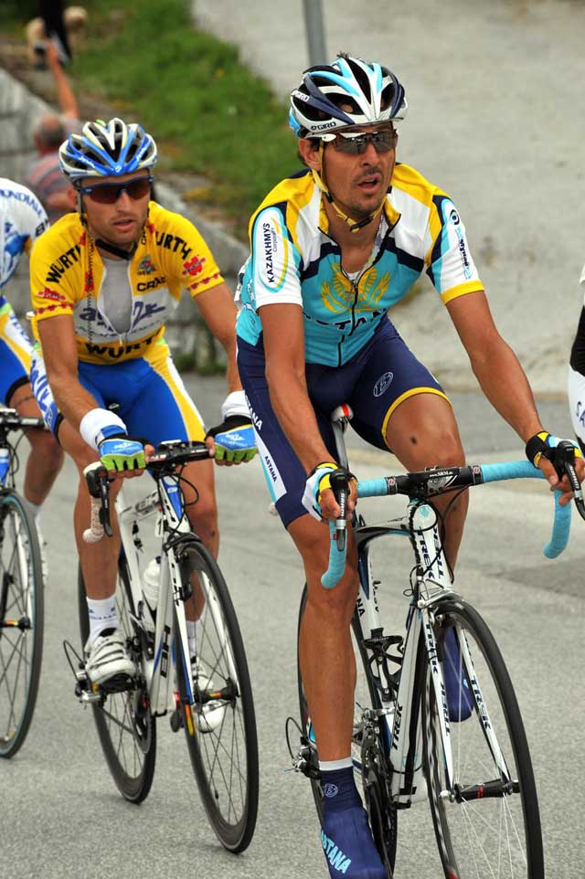 Tadej Valjavec, Andreas Kloden, Tour of Switzerland 2009 stage 8