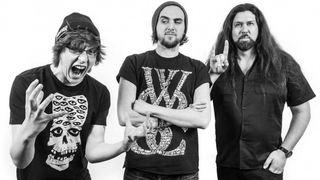 Metal Hammer In Residence Luke Morton Merlin Alderslade Alexander Milas